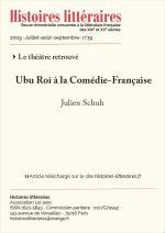 Ubu Roi à la Comédie-Française