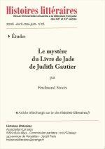Le mystère du <em>Livre de Jade</em></br> de Judith Gautier