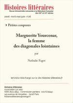 Marguerite Yourcenar<br/> la femme<br/> des diagonales lointaines