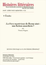 <em>La force mystérieuse</em> de Rosny Aîné:<br/>une fiction anarchiste