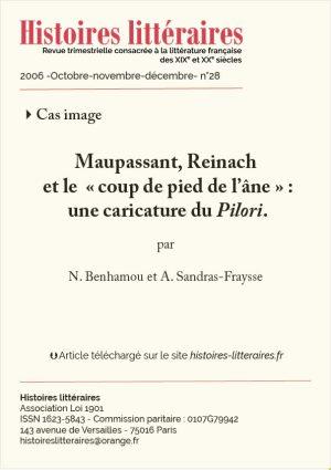 Couv. Maupassant Reinach