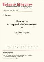 Han Ryner<br/>et les paraboles historiques