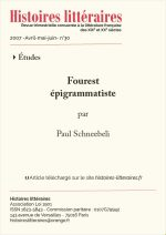 Fourest épigrammatiste