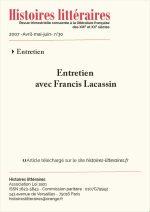 Entretien avec Francis Lacassin