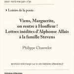 Viens, Marguerite,<br>on rentre à Honfleur !<br>Lettres inédites d'Alphonse Allais<br>à la famille Stevens
