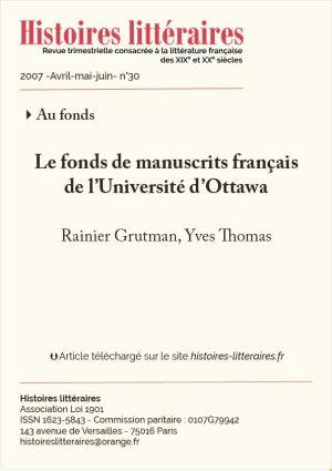 Couv. Fonds Ottawa
