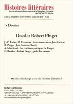 Dossier Robert Pinget