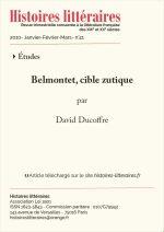 Belmontet, cible zutique