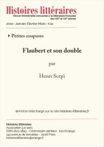Flaubert et son double