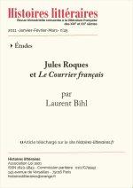 Jules Roques et <em>Le Courrier français</em>