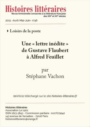 Couv. Flaubert-Feuillet