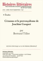 Cézanne et le provençalisme de Joachim Gasquet