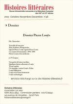 Dossier Pierre Louÿs