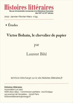 Couv. Victor Bohain