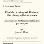 Visages de Rimbaud